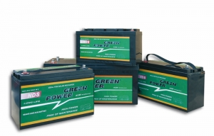 BATTERIA AGM GREEN POWER 12V-100Ah. - Bassa