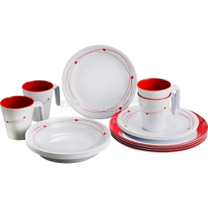 MELAMINE SET COSMIC (16pz)