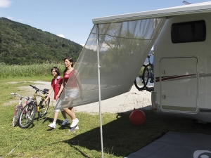 SUN VIEW SIDE PER CARAVANSTORE / F35