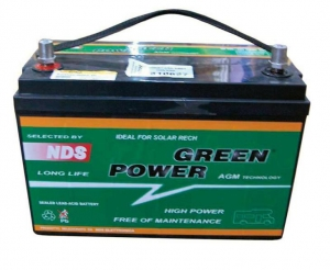 BATTERIA in AGM GREEN POWER 12V-100Ah - Alta